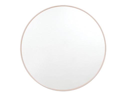 Flynn Round Mirror- Blush