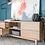 Thumbnail: Copenhagen TV Cabinet - 4 Drawers - 2 Shelves - 180cm - Oak
