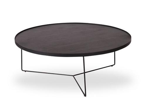 Alora Coffee Table - Black - Black - Large