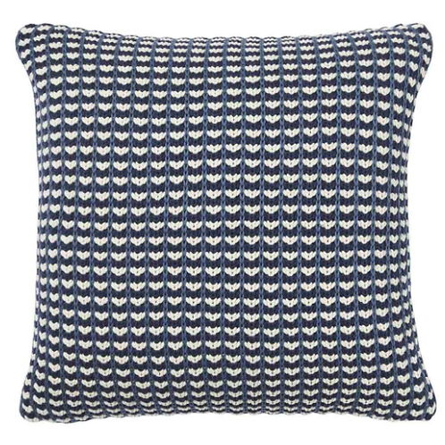 Sausalito Knitted Cushion - Pigment