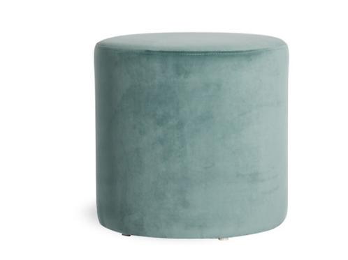 Tito Ottoman - Sage Green Velvet