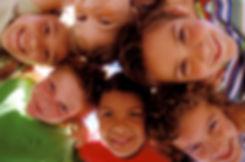 Happy Kids Huddle