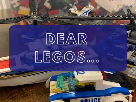Dear LEGOs