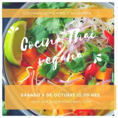 Cocina Thai Vegana