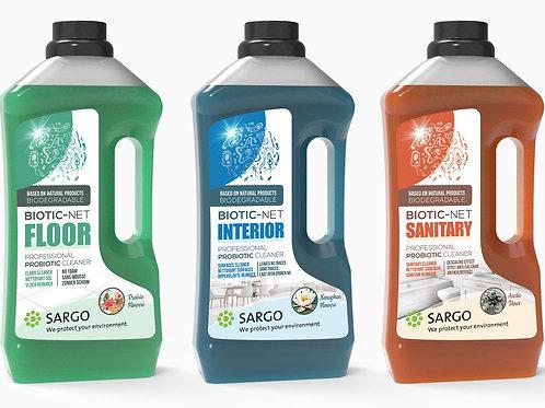 BIOTIC-NET TRI-PACK  - pro-biotic cleaners