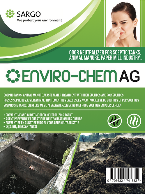 Enviro-Chem AG anti-odor for sceptic tanks and garbage 20L