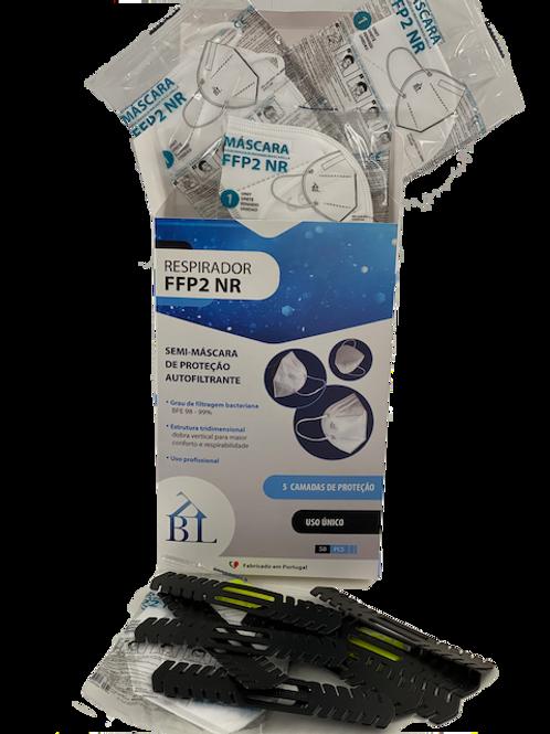 Masque FFP2 ORIGINE EU - 1 boites x 50 certifiés CE
