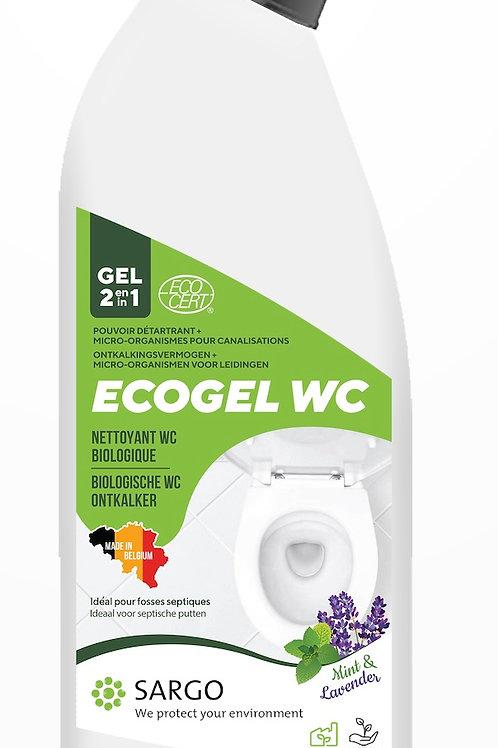 ECOGEL WC 2 en 1 certifié ECOCERT