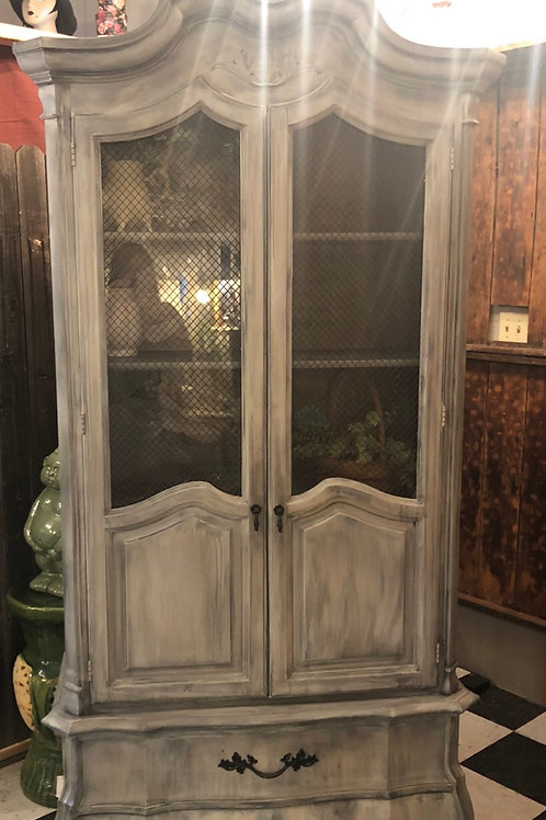 "Beautiful one of a kind hutch! 83 tall 41""wide"