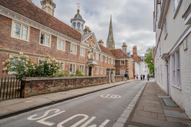 High Street in front of the College of Matrons
