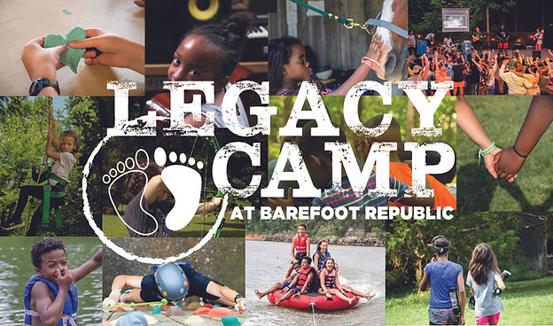 Legacy Camp Promo Card 2021 front with b