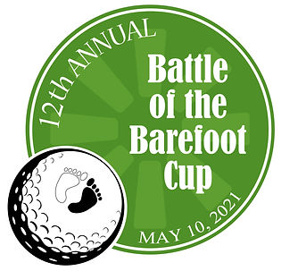 12th annual battle of barefoot cup logo.