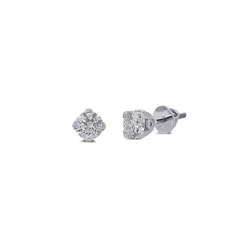 Ciliary Glam Stud Earrings