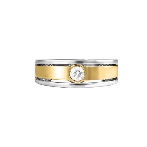 Classic Contemporary Ring for Men