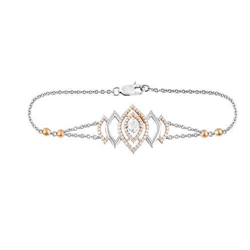 Petal Bud Diamond Bracelet