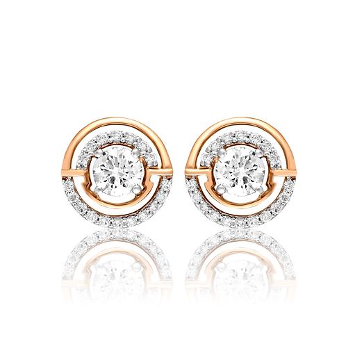 Luxury Contemporary Stud Earrings
