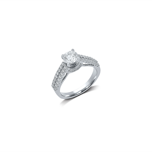 White Shadow Ring