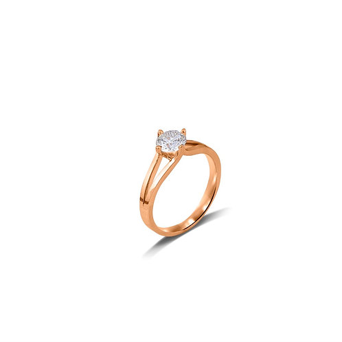 Sweet Ocean Solitaire Ring