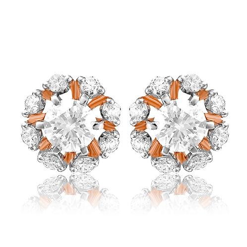 Bejeweled Snowflakes Earrings