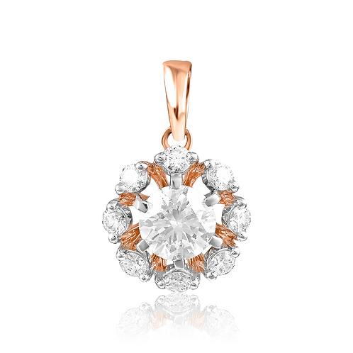 Bejeweled Snowflakes Pendant