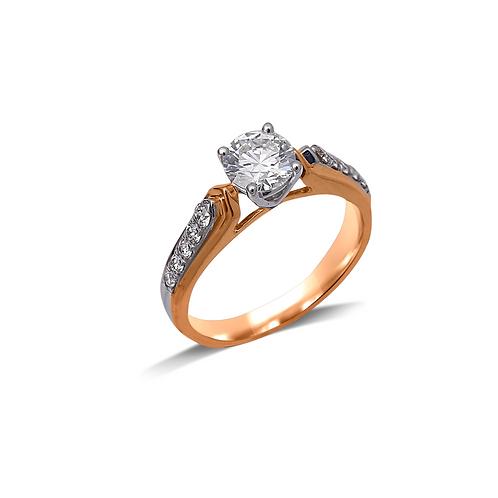 Flawless Valentine Ring