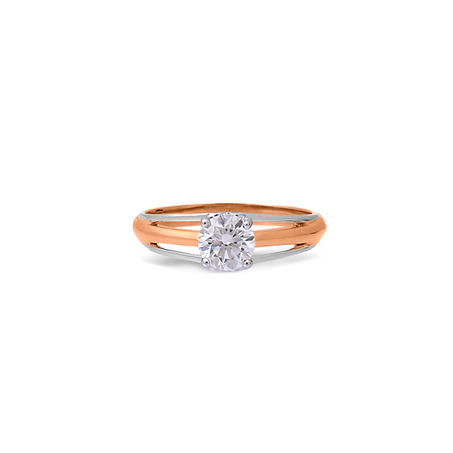 Modern Two Toned Ring