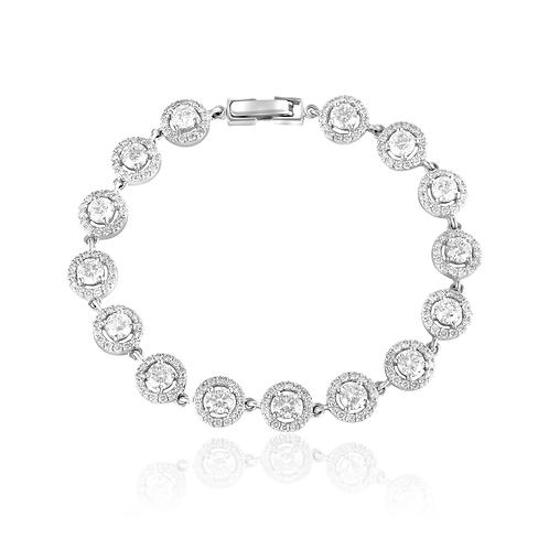Sleeping Beauty Diamond Bracelet