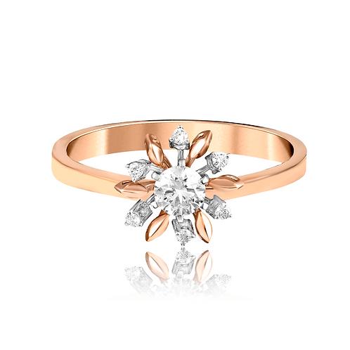 Golden Sunflower Ring