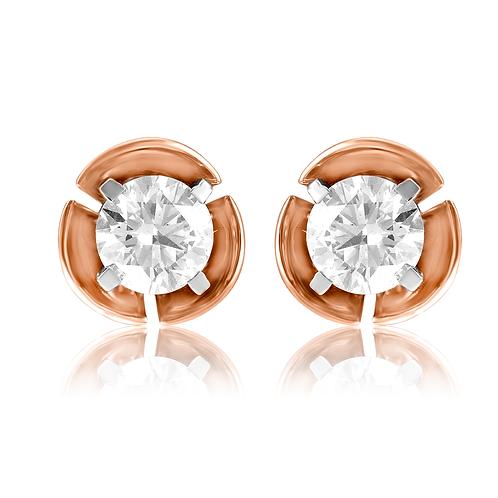 Sparkling Wrap Stud Earrings