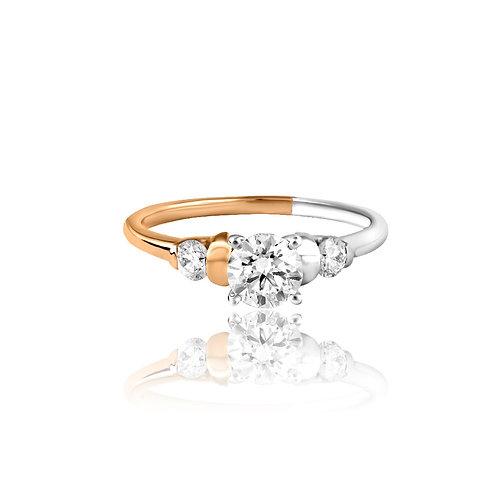 Signet of Success Diamond Ring