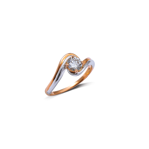 Twisted Wave Ring