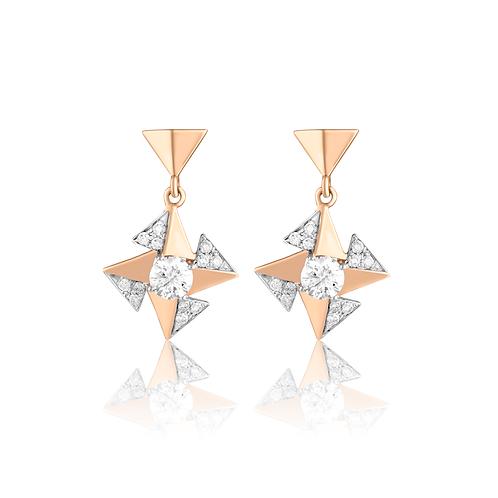 Entwined Cluster Earrings