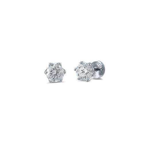 Elite Single Diamond Earrings