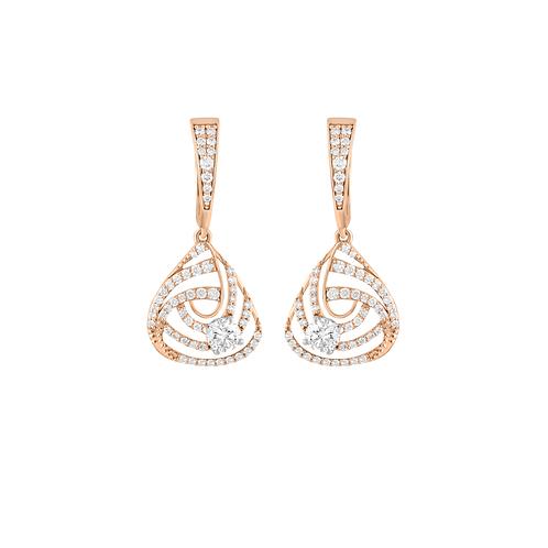 Sparkling Shell Earrings