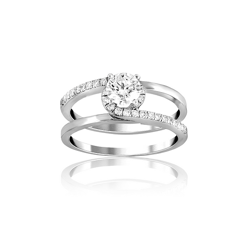Love Twines Diamond Ring