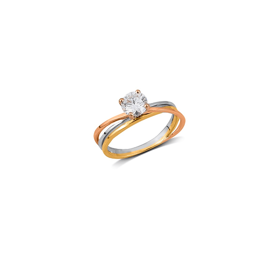 Brilliantly Delicate Solitaire Ring