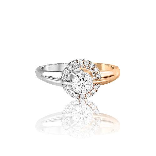 Elegant Nova Diamond Ring