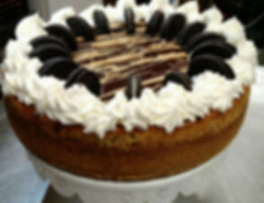 Peanut Butter Oreo Cheese Cake