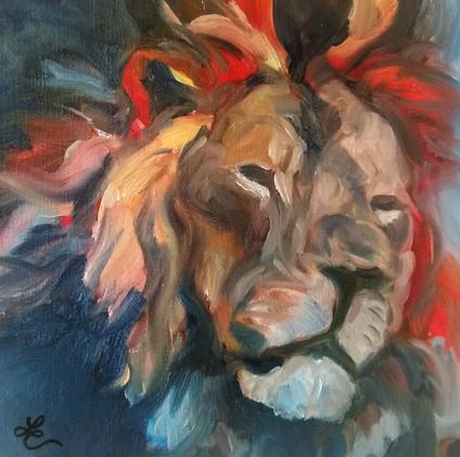 Study of a Lion