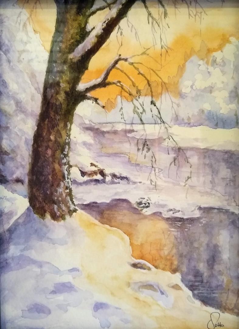 Winter on the Platte