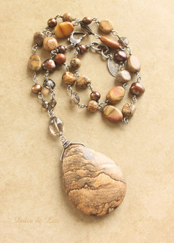 smoky and jasper mix with picture jasper