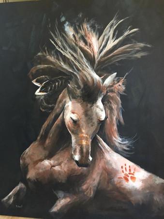 indian war horse princess