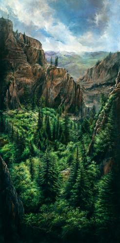 canyon hang lake