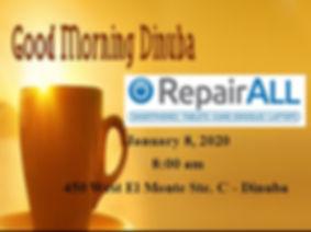 Good Morning Dinuba web tab RepairALL.jp