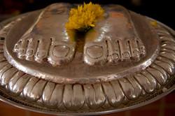 Pies del guru