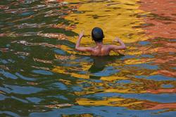 HAving fun in Gadavari river