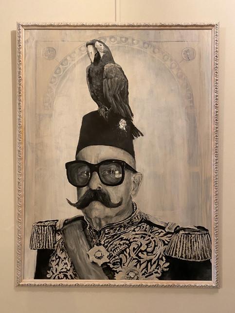 Art piece - Sultanovic Papegaeus