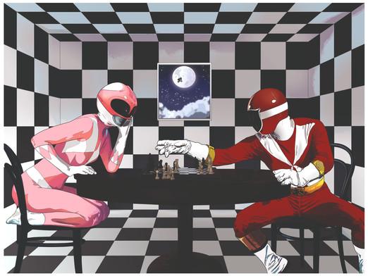 Art piece - Ranger Chess