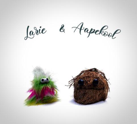 Larie & Aapekool // concept Art