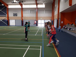 mitch and leanna netball